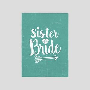 Sister of Bride 5'x7'Area Rug