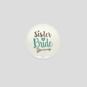 Sister of Bride Mini Button