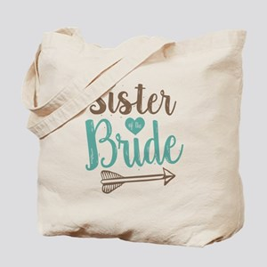 Sister of Bride Tote Bag