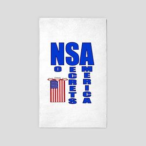 NSA 3'x5' Area Rug