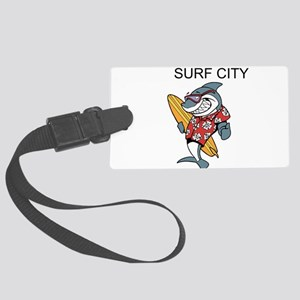 Surf City Luggage Tag