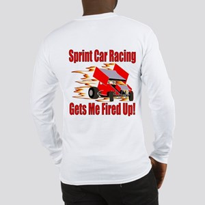 Fired Up Winged Sprint Long Sleeve T-Shirt