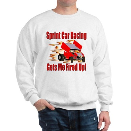 Fired Up Winged Sprint Sweatshirt