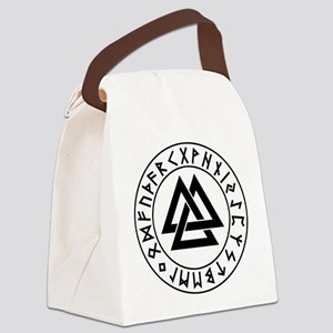 valknut Canvas Lunch Bag