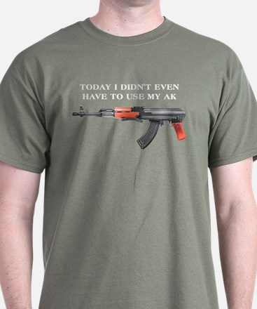 AK-47 Use T-Shirt