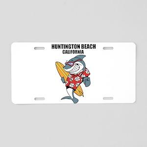 Huntington Beach, California Aluminum License Plat
