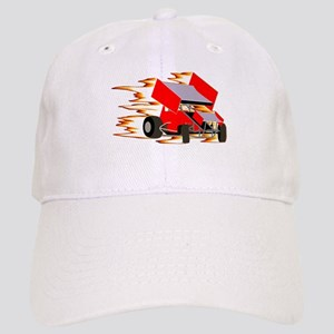 Flaming Winged Sprint Cap