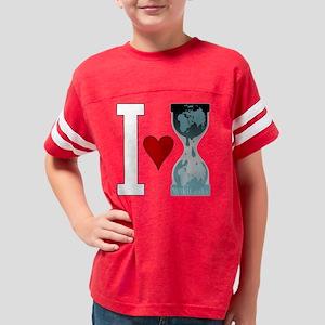 i heart wikileaks white Youth Football Shirt