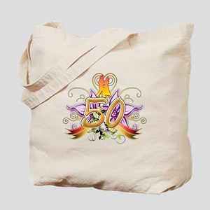 50th Golden Anniversary Tote Bag