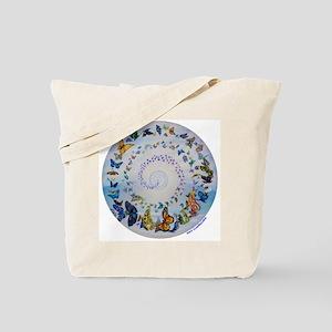 Butterfly Mandala * Transformation Tote Bag