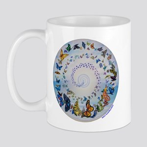 Butterfly Mandala * Transformation Mug