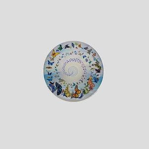 Butterfly Mandala * Transformation Mini Button