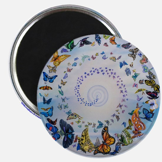 Butterfly Mandala * Transformation Magnet