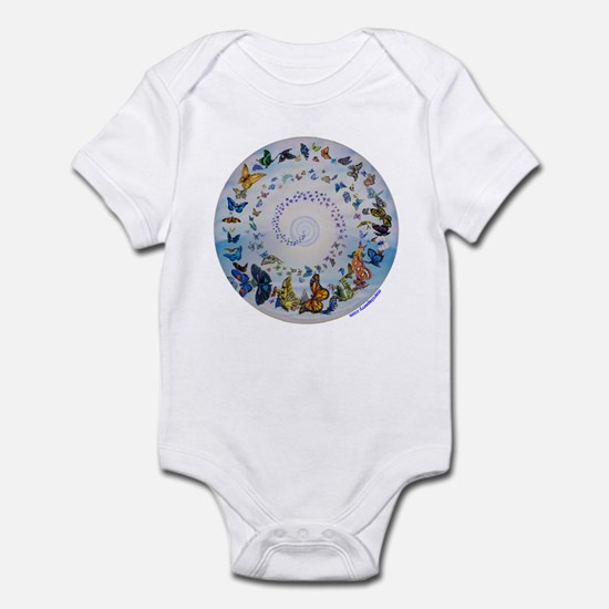 Butterfly Mandala * Transformation Infant Bodysuit