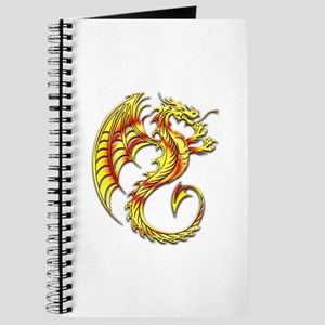 Golden Dragon Symbol Journal