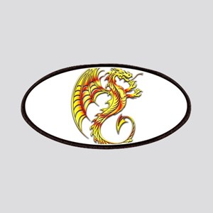 Golden Dragon Symbol Patches