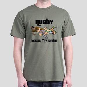 Rugby Hooker Dark T-Shirt