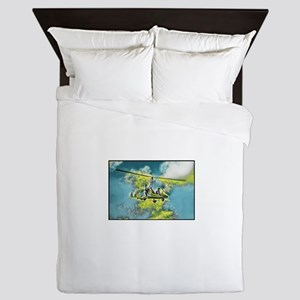 Gyrocopters for Sale Fantasy Queen Duvet