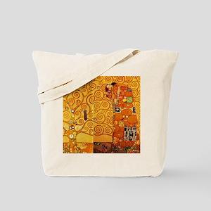 Gustav Klimt Tree of Life Art Nouveau Tote Bag