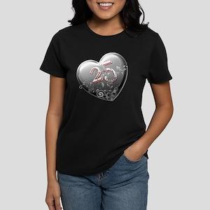 25th Anniversary Women's Dark T-Shirt