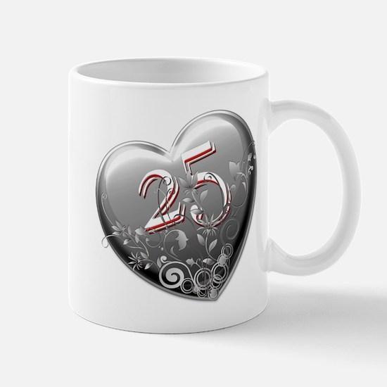 25th Anniversary Mug