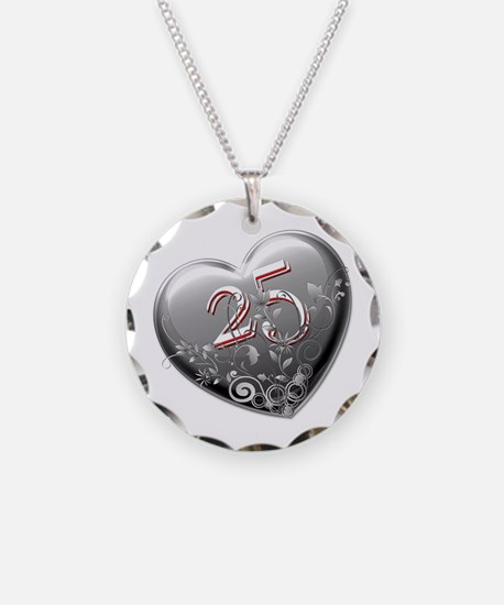 25th Anniversary Necklace