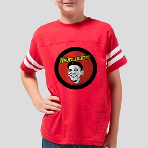 changerevolution_redsquare_3x Youth Football Shirt