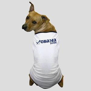 Retro Obama 2008 Dog T-Shirt