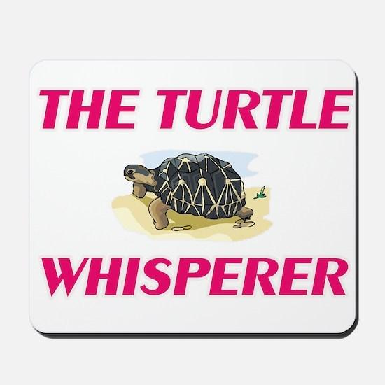 The Turtle Whisperer Mousepad