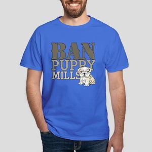 Ban Puppy Mills Dark T-Shirt