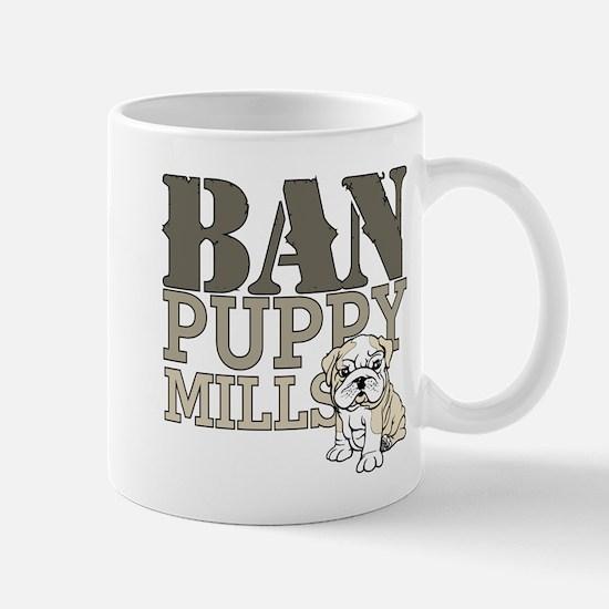 Ban Puppy Mills Mug