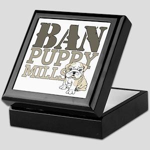 Ban Puppy Mills Keepsake Box