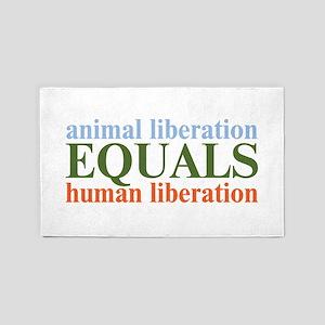 Animal Liberation 3'x5' Area Rug