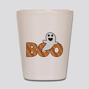 BOO Spooky Halloween Casper Shot Glass