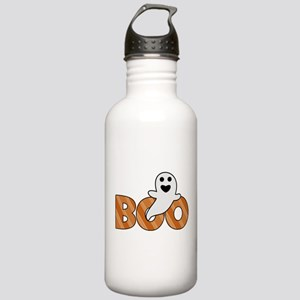 BOO Spooky Halloween Casper Sports Water Bottle