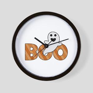 BOO Spooky Halloween Casper Wall Clock