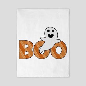 BOO Spooky Halloween Casper Twin Duvet