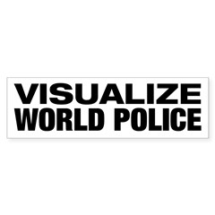 World Police Bumper Bumper Sticker