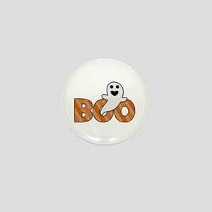 BOO Spooky Halloween Casper Mini Button