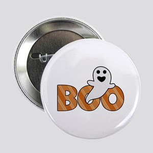 "BOO Spooky Halloween Casper 2.25"" Button"