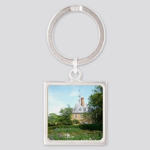 GOVERNORS PALACE FORMAL GARDENS WI Square Keychain