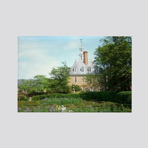 GOVERNORS PALACE FORMAL GARDENS W Rectangle Magnet