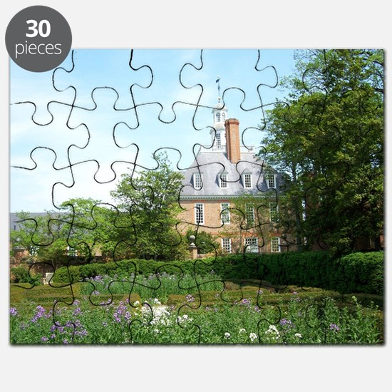 GOVERNORS PALACE FORMAL GARDENS WILLIAMSBUR Puzzle