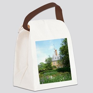GOVERNORS PALACE FORMAL GARDENS W Canvas Lunch Bag