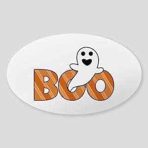 BOO Spooky Halloween Casper Sticker