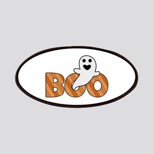 BOO Spooky Halloween Casper Patches