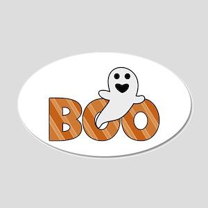 BOO Spooky Halloween Casper Wall Sticker
