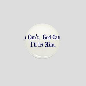 God can (light) Mini Button