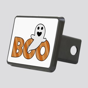 BOO Spooky Halloween Casper Rectangular Hitch Cove