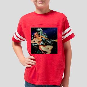 PrettyGirlsAleins-robot Youth Football Shirt